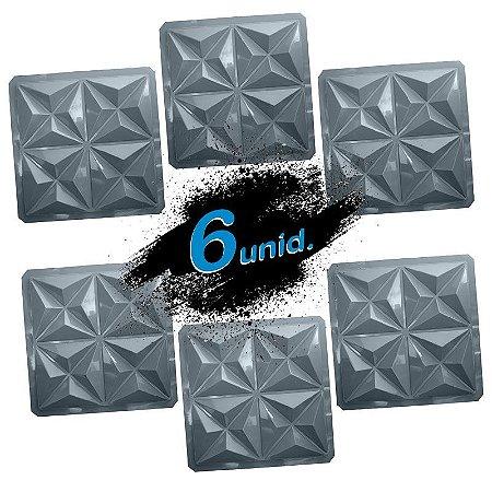 KIT 6 formas PRO 80 - ABS 1.5 mm Gesso/Cimento - Mini Culinans - 40 x 40 cm