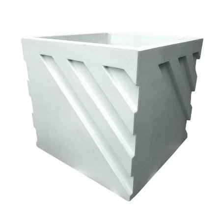 ART 832 - Forma p/ Vaso 3d Diagonal - ABS 1.5 mm 30 x 30 cm