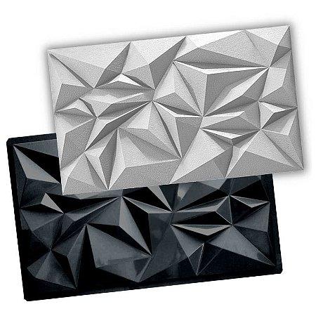 GMOLD 301 - Forma ABS 2mm Gesso/Cimento c/ base - Crystal 74,5 X 45 CM