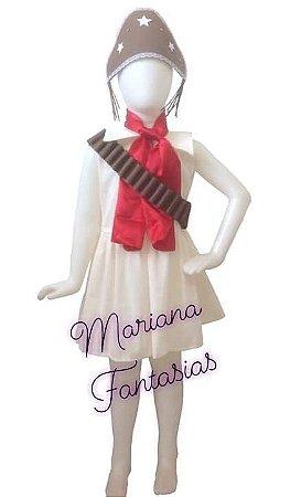 Fantasia de Maria Bonita Infantil