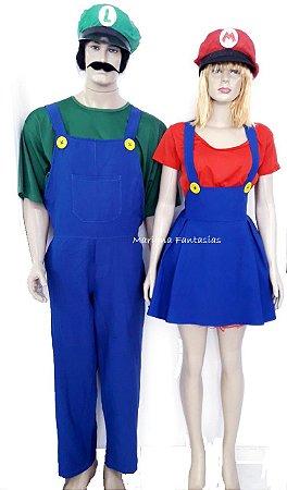 Casal Mario e Luigi para aluguel