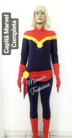 Capitã Marvel para alugar - Exclusiva Mariana Fantasias