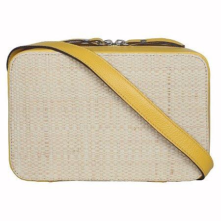 Kelly Bag Amarelo Palha