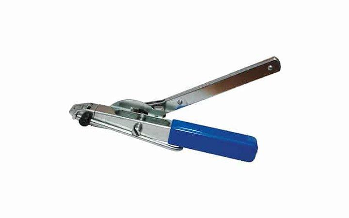 Maquina De Cintar Mini com Corte Embutido para Abraçadeiras de Aço Inox - Ferramenta para aplicação de Zip Tie