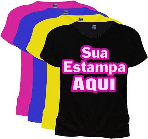 Camisetas Personalizadas FEMININAS - Camisetas Personalizadas Online ... c6449f280276c