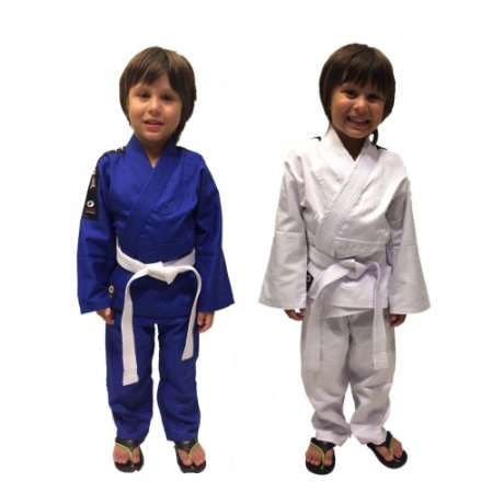 Kimono Judô / Jiu Jitsu Reforçado Infantil Marca Aranha