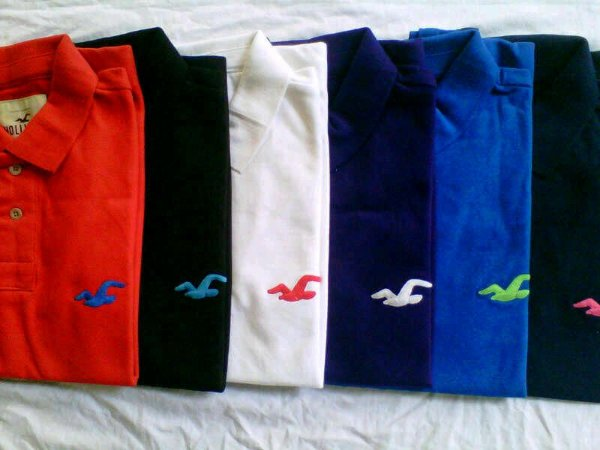 25e2fb2da8dd3 KIT 20 CAMISAS POLO HOLLISTER CORES VARIADAS - INOVA OUTLET ...