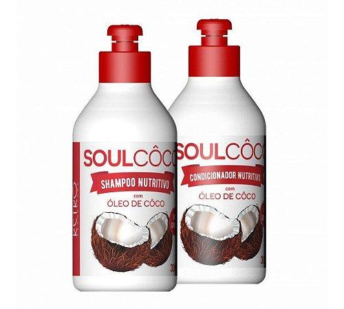 ShamPoo & Condicionador De Coco Retro Cosméticos