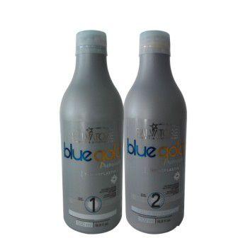 SALVATORE ESCOVA BLUE GOLDSALVATORE SEM FORMOL 2X500ML