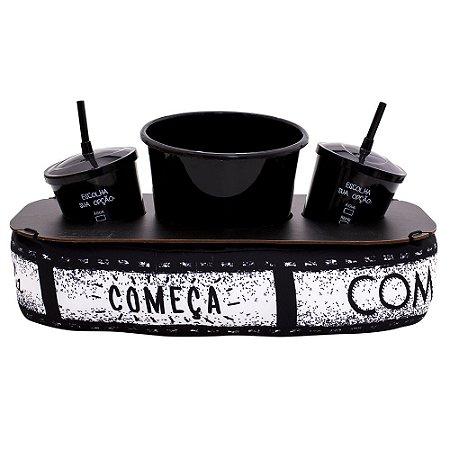 Almofada de Pipoca - Cinema