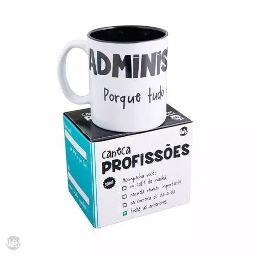 Caneca Profissões - Administração