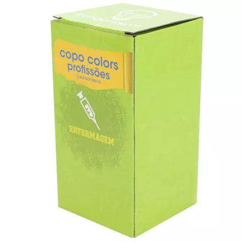 Copo Colors Profissões - Enfermagem