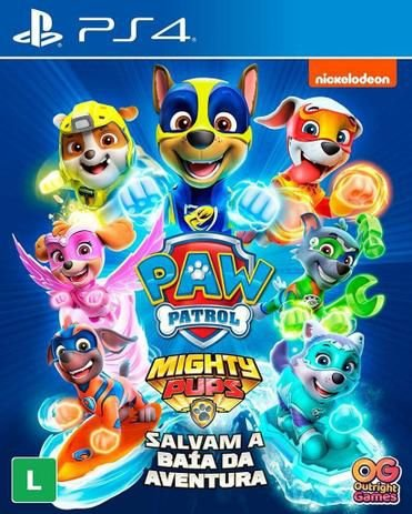 Paw Patrol Mighty Pubs Salvam a Baía Da Aventura - Playstation 4