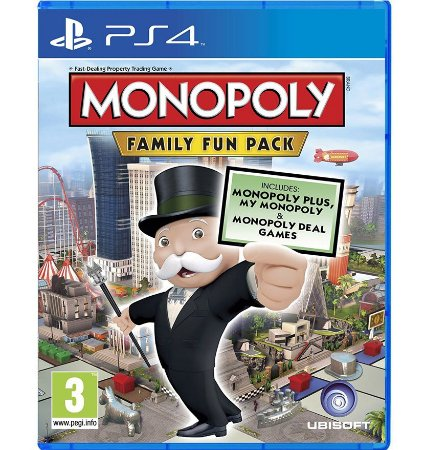 Monopoly Family Fun Pack - PlayStation 4