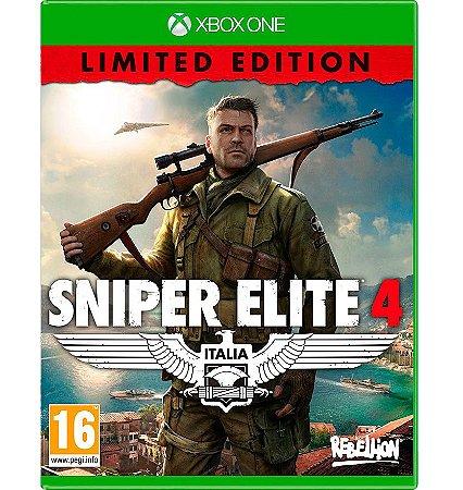 Sniper Elite 4 - (Edição Limitada) - Xbox One