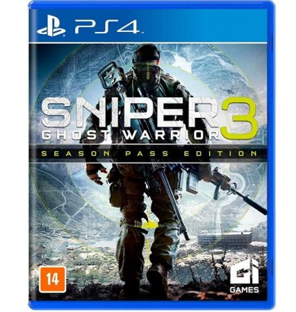 Sniper 3 Ghost Warrior - PlayStation 4