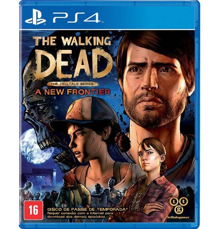 The Walking Dead - A New Frontier  PlayStation 4