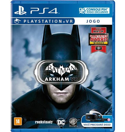 Batman Arkham Vr - PlayStation 4