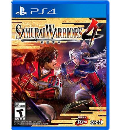Samurai Warriors 4 - PlayStation 4