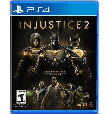 Injustice 2 Legendary Edition - PlayStation 4