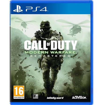 Call of Duty Modern Warfare Remastered - PlayStation 4