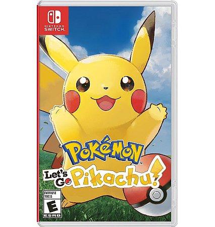 Pokemon: Let´s Go Pikachu - Nintendo Switch