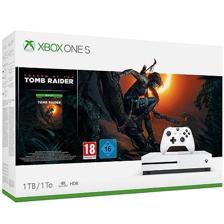 Xbox One S 1tb Bundle Shadow of the Tomb Raider