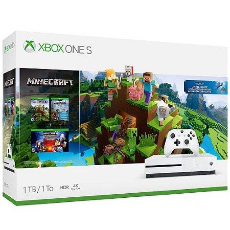 Xbox One S 1tb Bundle Minecraft