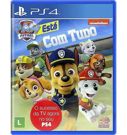 A Patrulha Canina: Está com Tudo - PlayStation 4