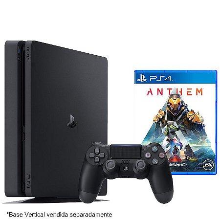 PlayStation 4 Slim 500 GB com jogo Anthem