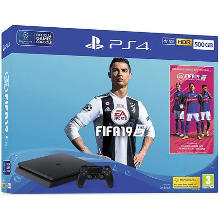PlayStation 4 Slim 500 GB com Fifa 19 Europeu