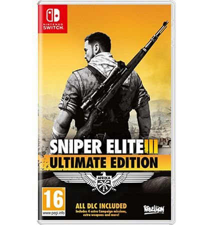 Sniper Slite III Ultimate Edition  - Nintendo Switch