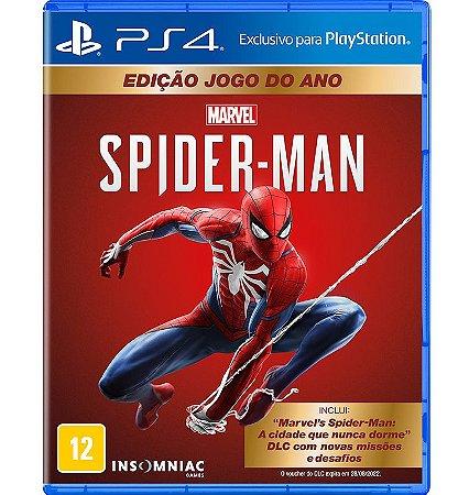 Marvel Spider Man Edição Jogo do Ano  - PlayStation 4