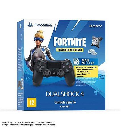 Controle DualShock 4 Fortnite Pacote de Neo Versa - PlayStation 4