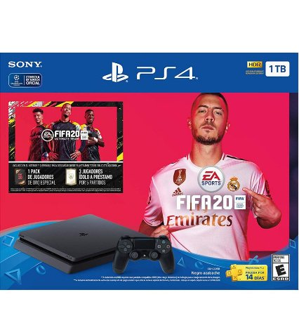 PlayStation 4 Slim 1tb c/ Fifa 2020*