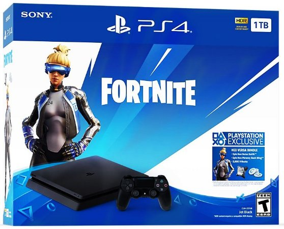 PlayStation 4 Slim 1TB - BONUS Fortnite