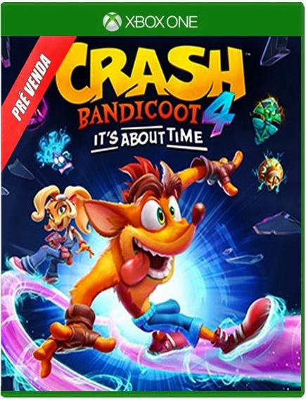 Crash Bandicoot™ 4: It's About Time (PRÉ-VENDA)  - Xbox One