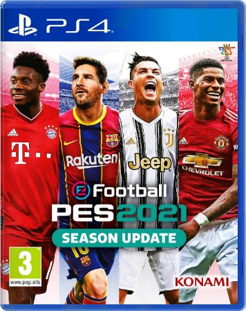 PES 2021 - Playstation 4