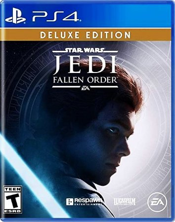 Star Wars Jedi: Fallen Order Edição Deluxe - PlayStation 4