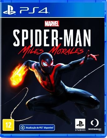 Marvel Spider Man Miles Morales - Playstation 4