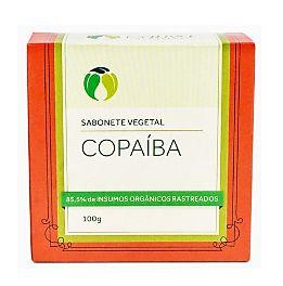 Sabonete Vegetal de Copaíba Orgânico Natural Vegano (Cativa)