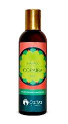 Shampoo Copaiba para Cabelos Oleosos e Anti Caspa Orgânico Natural Vegano (Cativa)