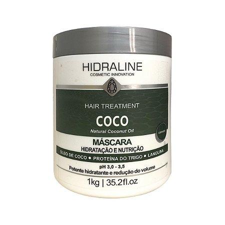 Hidraline Máscara Coco Professional Hidratação 1kg