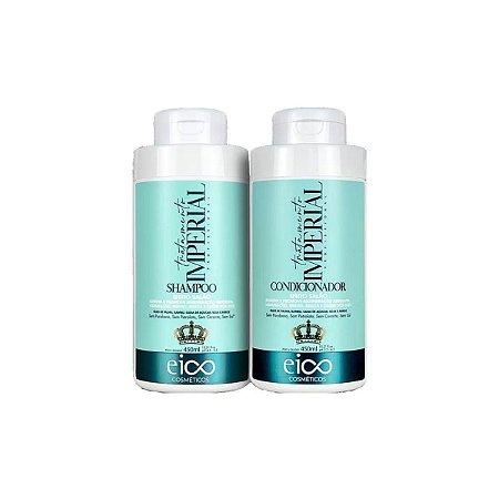 Kit Eico Shampoo e Condicionador Tratamento Imperial 2x450ml