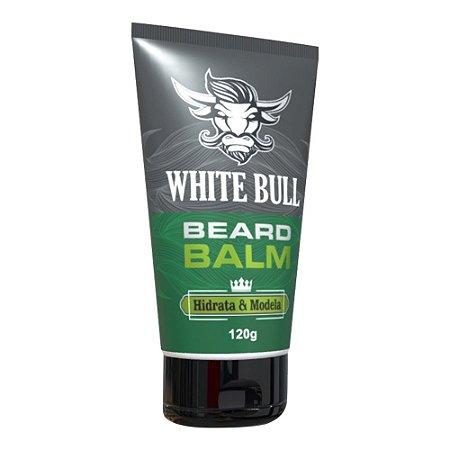 White Bull Beard Balm Hidrata e Modela Qualquer Barba 120g