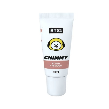 BTS Blush Cremoso Infantil BT21 Chimmy Cor Nude 8g