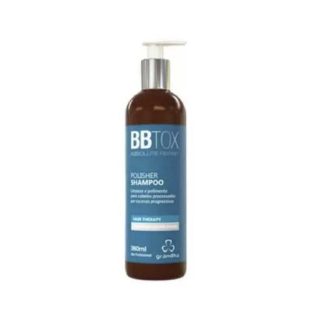 BBTox - Polisher Shampoo 360ml Pós Progressiva e Químicas - Grandha