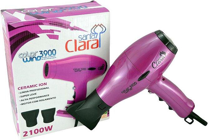 Secador Wind Santa Clara 3900 Pink Profissional