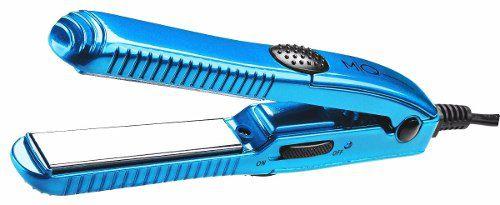 Mini Prancha Titanium Azul Bivolt Mq Hair