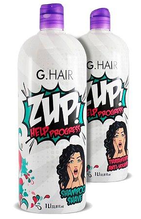 Zup Escova Progressiva G.Hair Help Progress